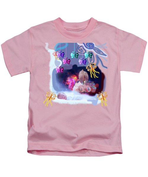 The Real Little Baby Dream Kids T-Shirt by Artist Nandika  Dutt