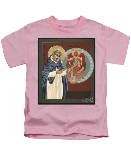 The Silence Of St Thomas Aquinas 097 Kids T-Shirt