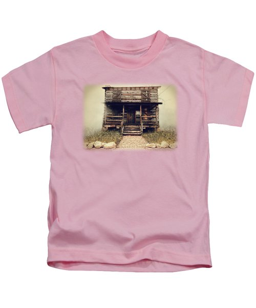 The Vann Cherokee Cabin Kids T-Shirt