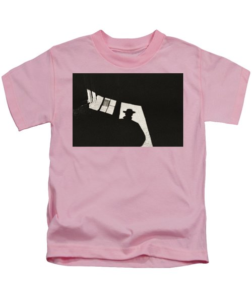 There's A New Sheriff In Town Kids T-Shirt