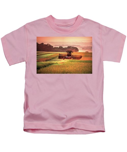 Swathing On The Hill Kids T-Shirt