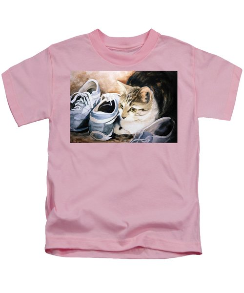 Tigger With Sneakers Kids T-Shirt
