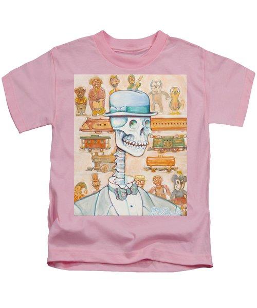 Toy Bones Kids T-Shirt