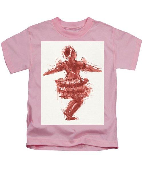 Trobriand Islands Dancer Kids T-Shirt