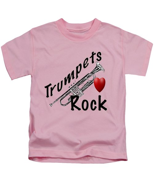 Trumpets Rock Kids T-Shirt