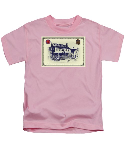 Tun Tavern - Birthplace Of The Marine Corps Kids T-Shirt