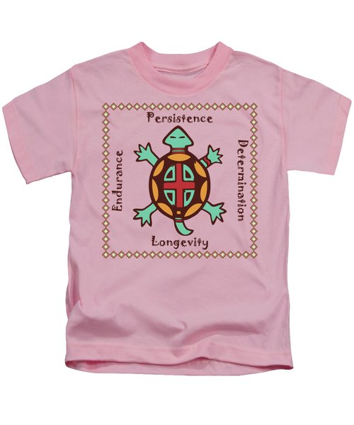 Turtle Animal Spirit Kids T-Shirt
