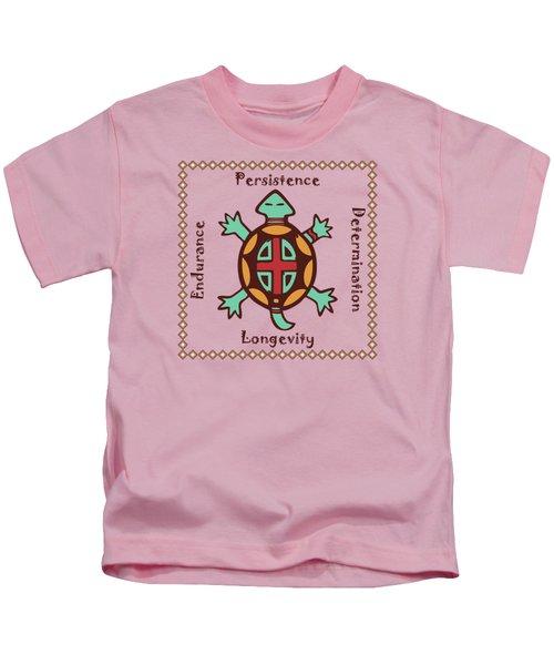 Turtle Animal Spirit Kids T-Shirt