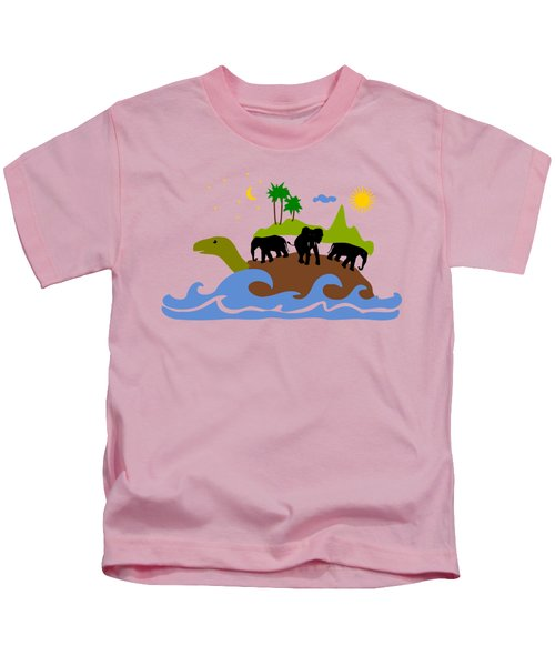 Turtles All The Way Down Kids T-Shirt