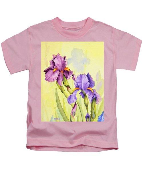 Two Irises  Kids T-Shirt