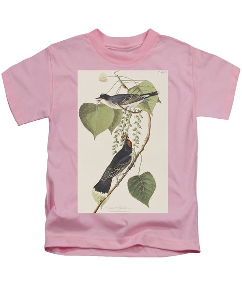 Tyrant Fly Catcher Kids T-Shirt
