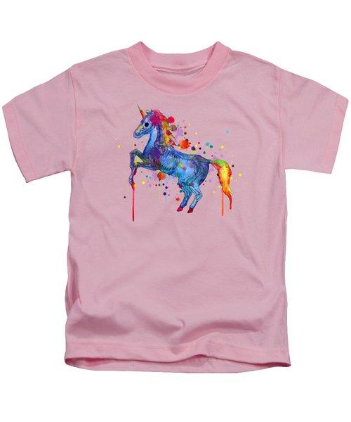 Unicorn Skeleton 2.0 Kids T-Shirt