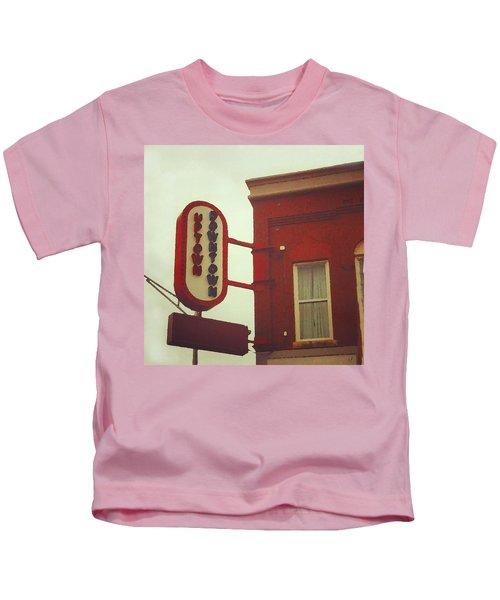 Uptown Downtown  Kids T-Shirt