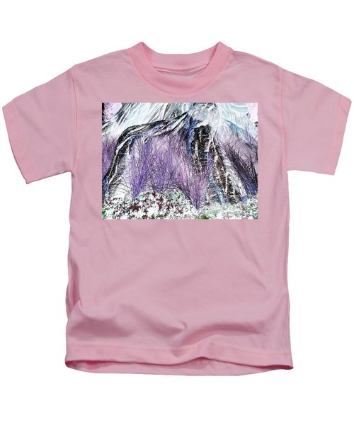 Venus Blue Garden Kids T-Shirt