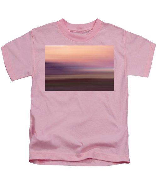 Vermilion Cliff At Dusk Kids T-Shirt