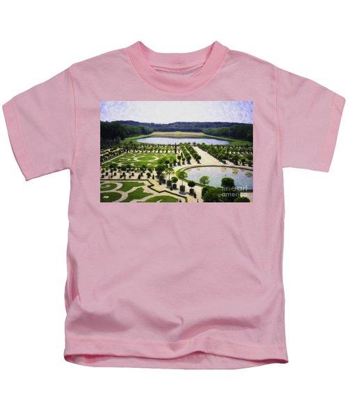Versailles Digital Paint Kids T-Shirt