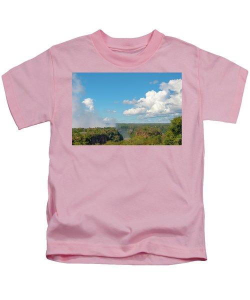 Victorial Falls Bridge Kids T-Shirt