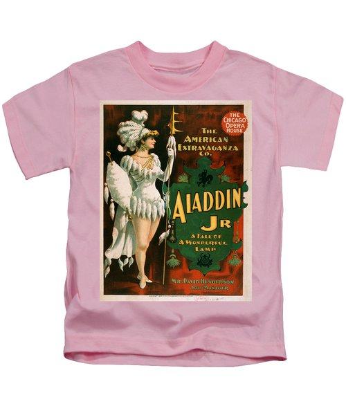 Vintage Poster - Aladdin Jr. Kids T-Shirt