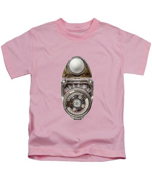 Vintage Sekonic Deluxe Light Meter Kids T-Shirt