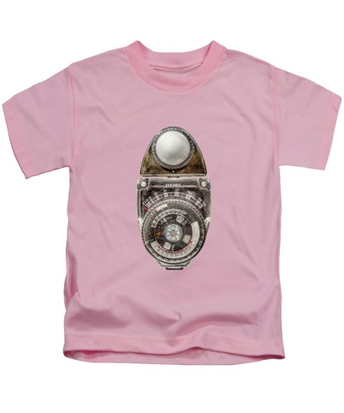 Vintage Sekonic Deluxe Light Meter Kids T-Shirt