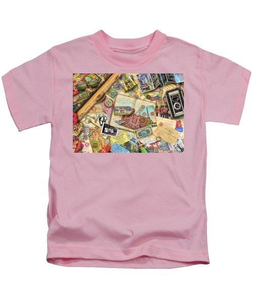 Vintage Travel Kids T-Shirt