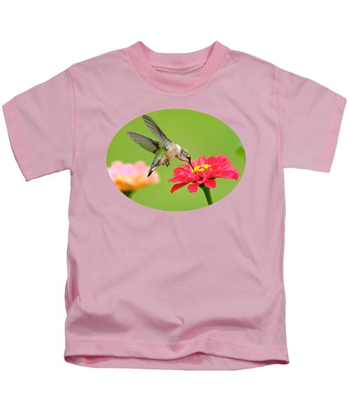 Waiting In The Wings Kids T-Shirt by Christina Rollo