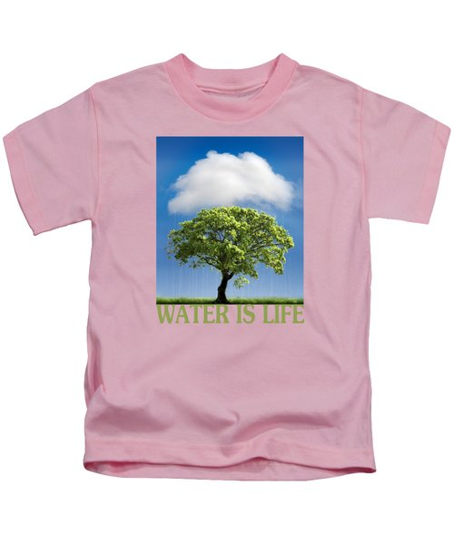 Water Is Life Kids T-Shirt