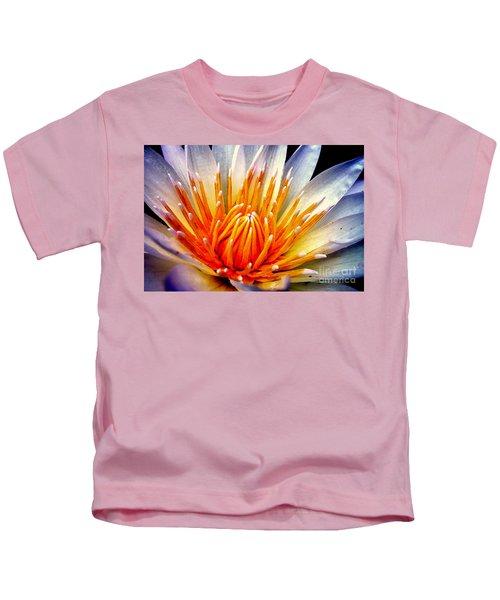 Water Lily Flower Kids T-Shirt