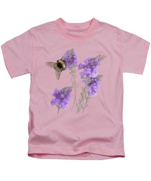 Watercolor Bumble Bee Kids T-Shirt