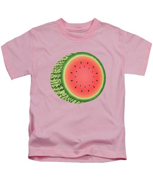 Watermelon Slice Kids T-Shirt