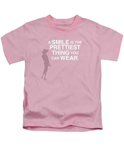 Wear A Smile Kids T-Shirt