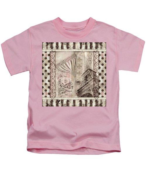 When In Paris Kids T-Shirt