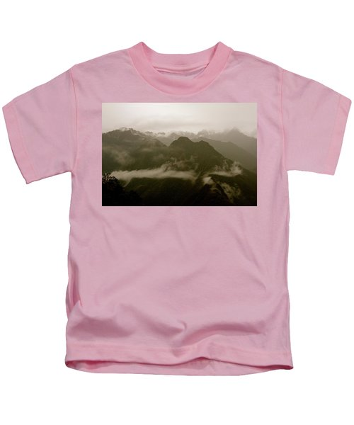 Whispers In The Andes Mountains Kids T-Shirt