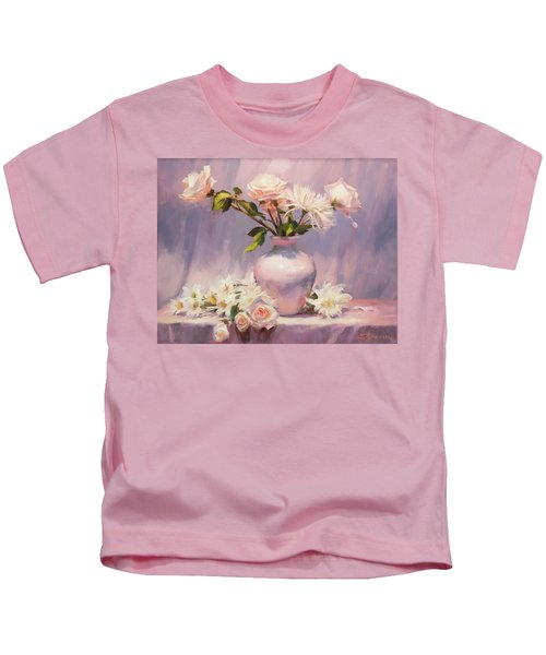 White On White Kids T-Shirt