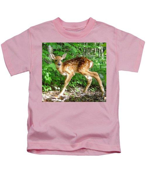 Whitetail Fawn Kids T-Shirt