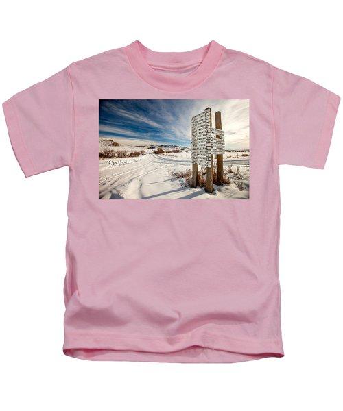 Who Lives Where Kids T-Shirt