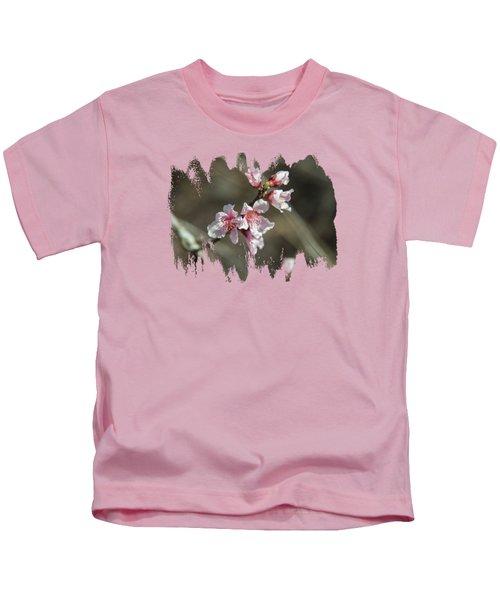 Wild Mountain Blossoms Kids T-Shirt