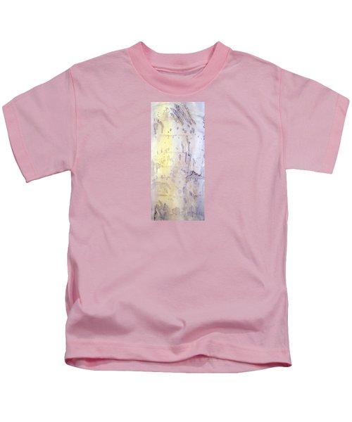 Wilderness Calligraphy - Aspen Tree Kids T-Shirt