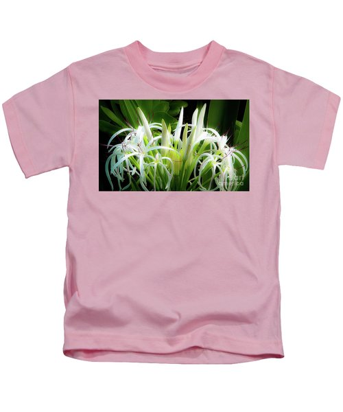 Wildflowers Of Hawaii Kids T-Shirt
