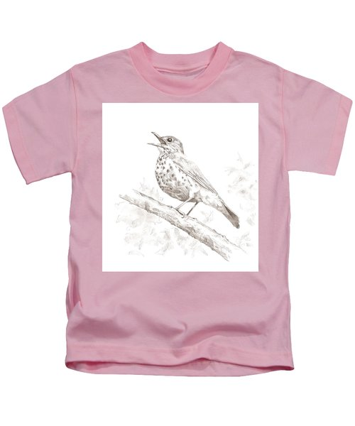 Wood Thrush Kids T-Shirt