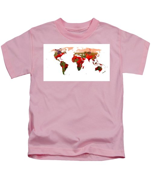World Of Poppies Kids T-Shirt