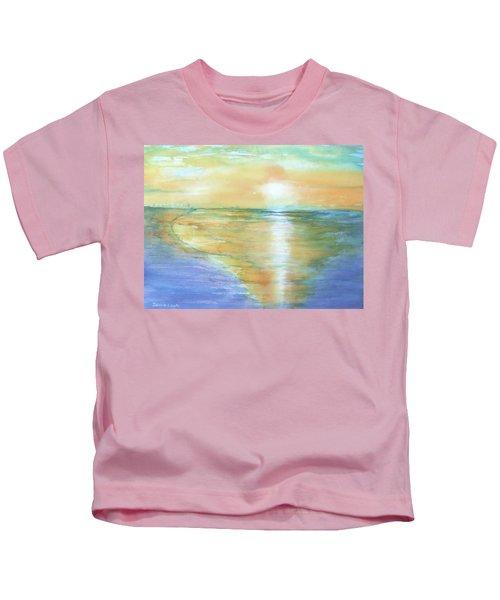 Wow Sunset Kids T-Shirt