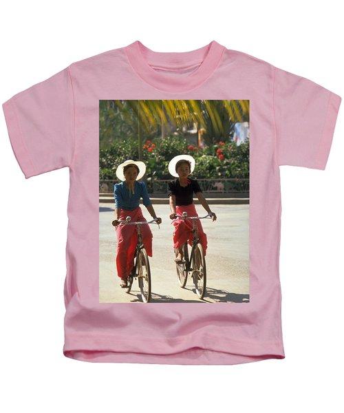 Xishuangbanna Cyclists Kids T-Shirt