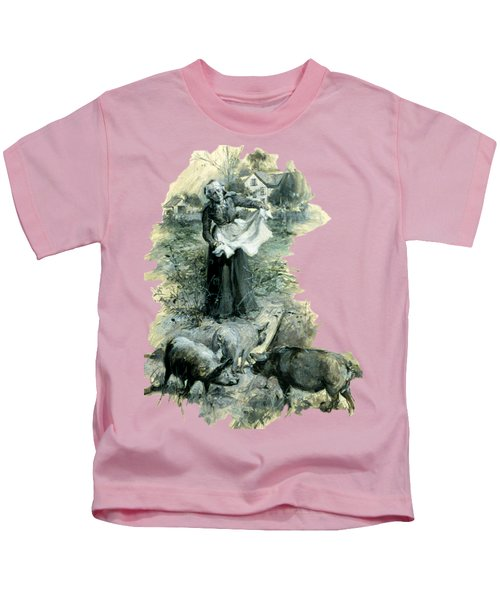 Yohn Pigs  Kids T-Shirt