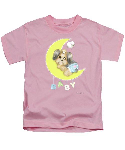 Yorkie Fofa Baby Kids T-Shirt