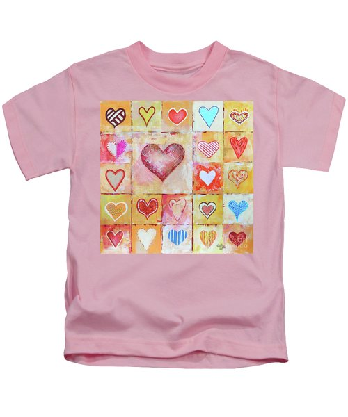 You Can Only See Clearly With Your Heart Kids T-Shirt
