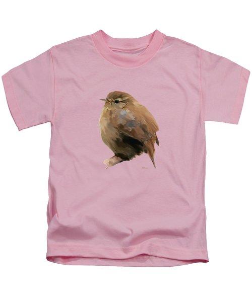 Young Female Blackbird - Turdus Merula Kids T-Shirt by Bamalam  Photography