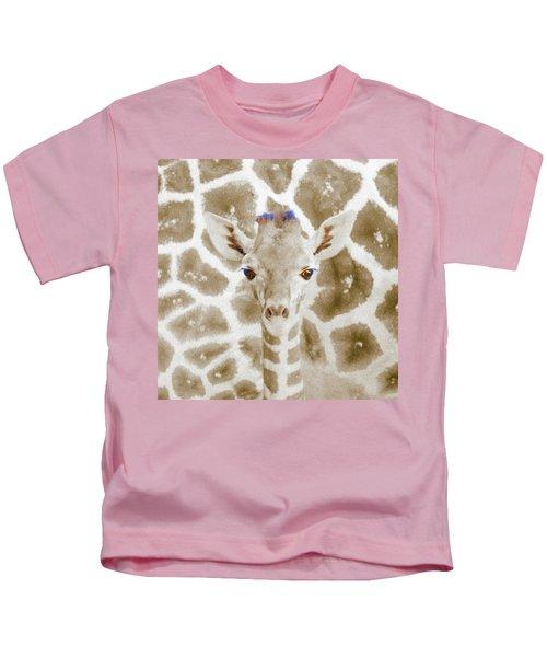 Young Giraffe Kids T-Shirt