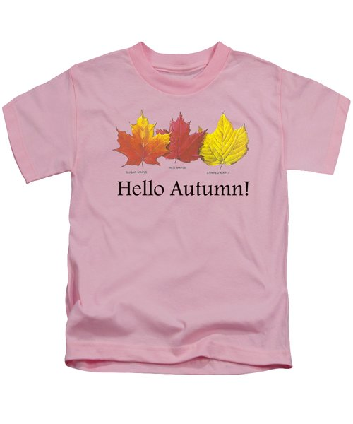Hello Autumn Kids T-Shirt