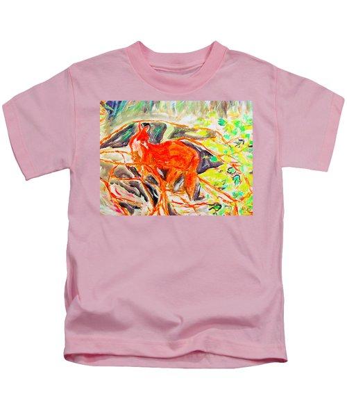 Hidden Fox Kids T-Shirt